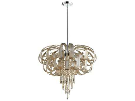 Cyan Design Cindy Lou Cognac Ten-Light 27'' Wide Chandelier