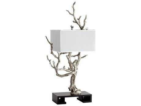 Cyan Design Mesquite Mystic Silver Four-Light Table Lamp