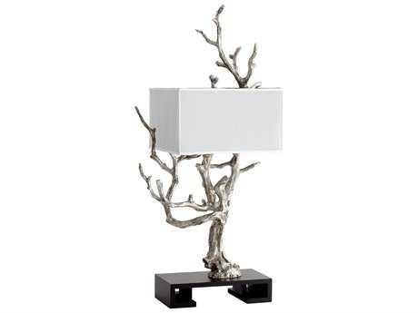Cyan Design Mesquite Mystic Silver Four-Light Table Lamp