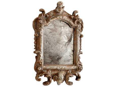 Cyan Design Guinevere 13 x 19 Rustic Silver Wall Mirror