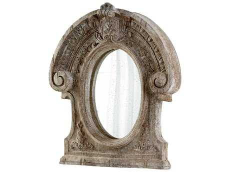 Cyan Design Inglewood 39 x 46 Ancient White Wall Mirror