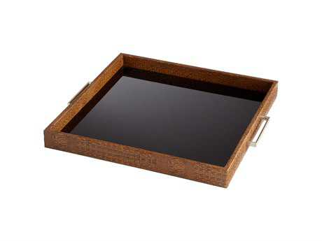 Cyan Design Crocodile Brown Serving Tray