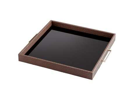 Cyan Design Chelsea Brown Serving Tray