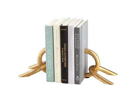 Cyan Design Goldie Gold Book End