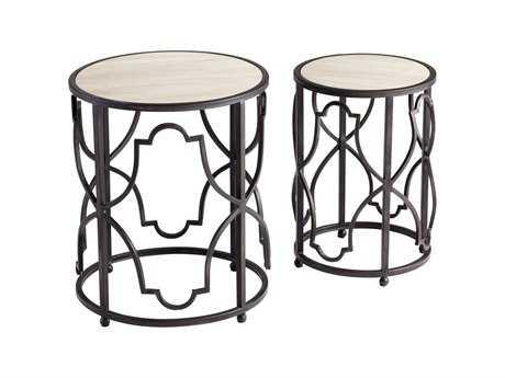 Cyan Design 18.5 Round Gatsby Table Set