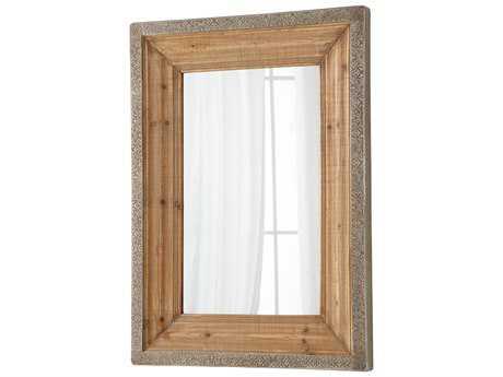 Cyan Design Vintage Reflection 36 x 48 Natural Wall Mirror