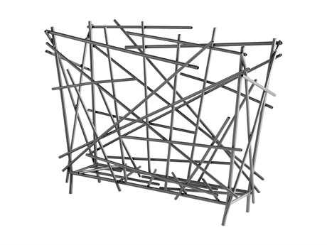 Cyan Design Pick Up Sticks Graphite Magzine Rack