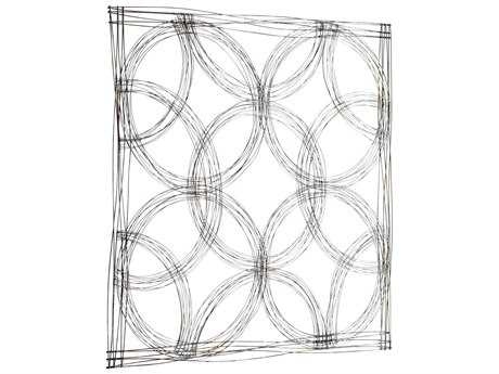 Cyan Design Graphite Small Kaleidoscope Wall Decor