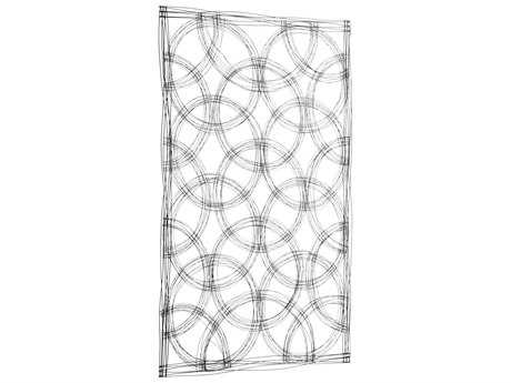 Cyan Design Graphite Large Kaleidoscope Wall Decor
