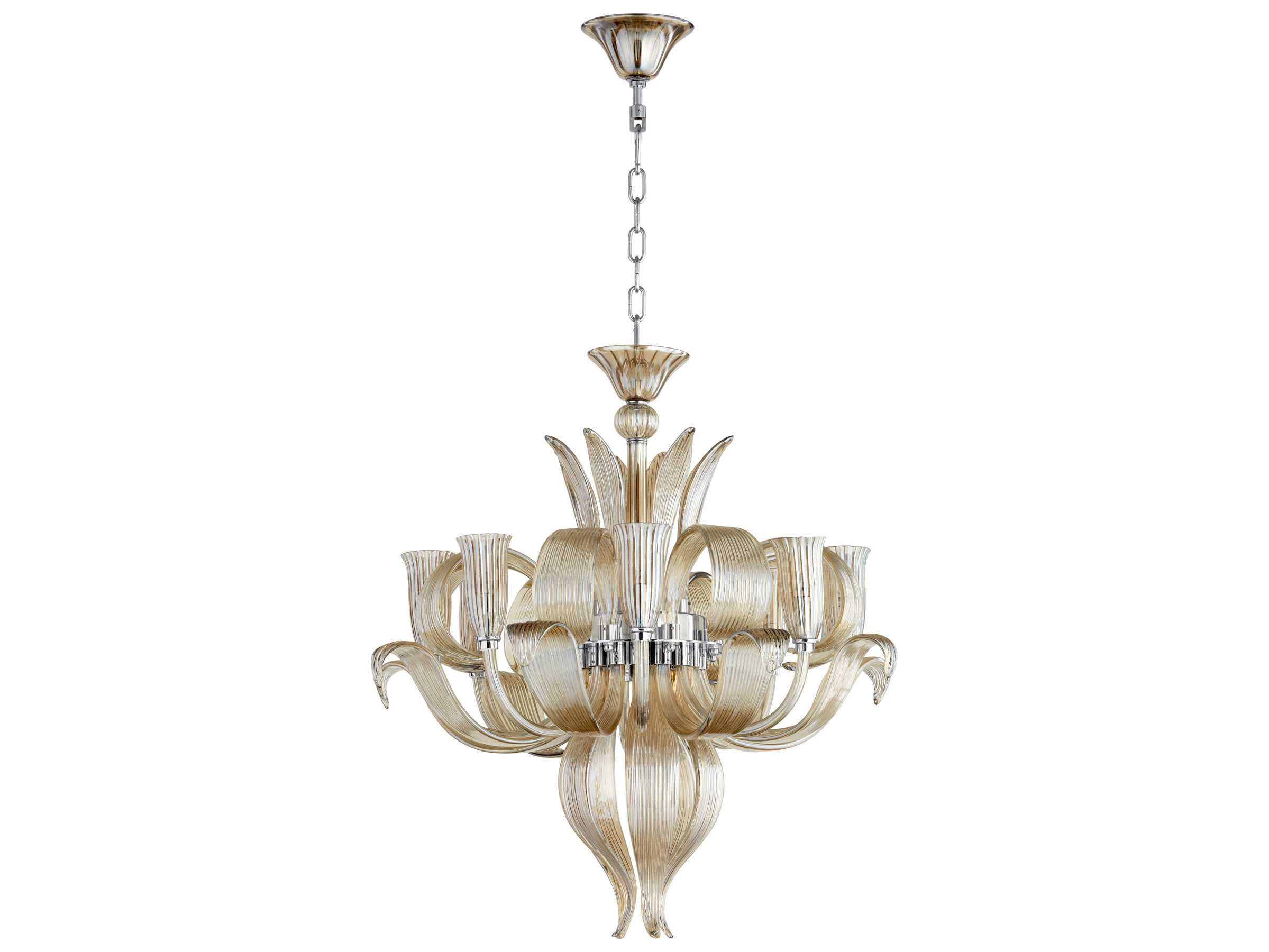 Cyan Design Juliana Cognac Eight Light 28 Wide Chandelier C306227