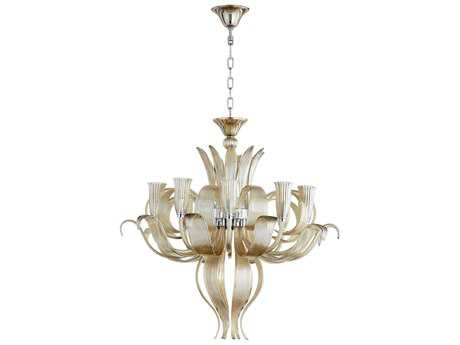 Cyan Design Juliana Cognac Ten-Light 34'' Wide Grand Chandelier