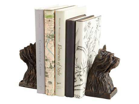 Cyan Design Westie Bronze Book End