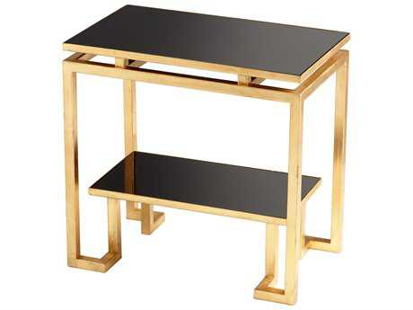 Cyan Design 23 x 14.25 Rectangular Midas End Table