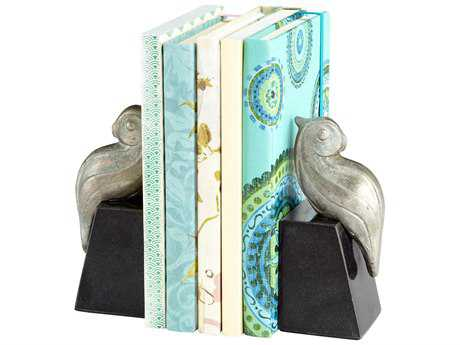 Cyan Design Perched Bird Pewter Book End