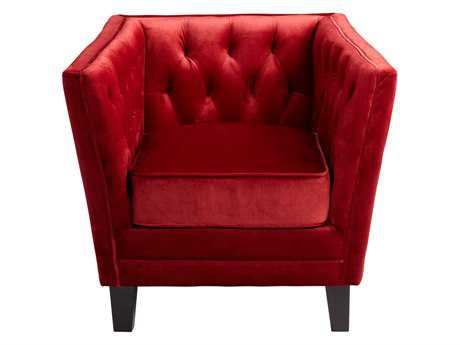 Cyan Design Red Prince Valiant Accent Chair