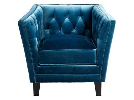 Cyan Design Blue Prince Valiant Accent Chair