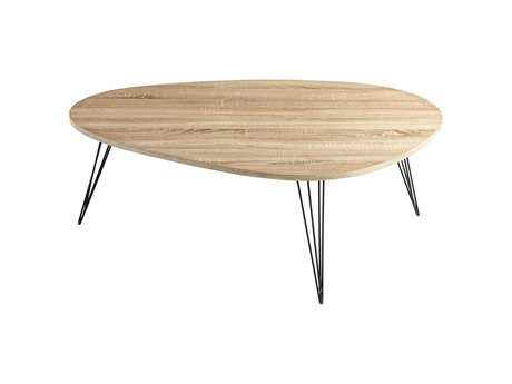 Cyan Design Oak 44 x 32 Lunar Landing Coffee Table
