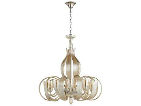Cyan Design Lucille Cognac Ten-Light 32'' Wide Grand Chandelier