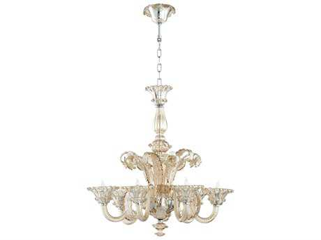 Cyan Design LaScala Cognac Six-Light 30'' Wide Chandelier
