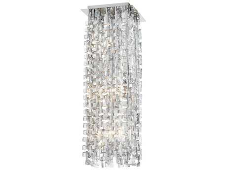 Cyan Design Athropolis Silver Six-Light 10'' Wide Mini Pendant Light