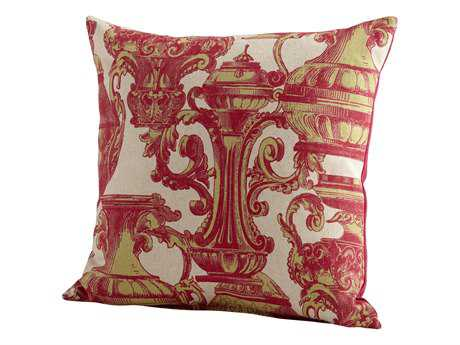 Cyan Design Pink Urn Your Keep Pillow