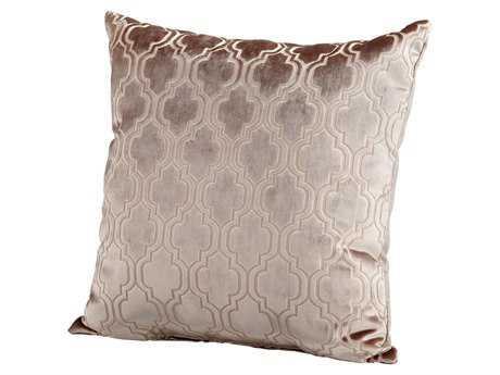 Cyan Design Taupe Flight Pattern Pillow