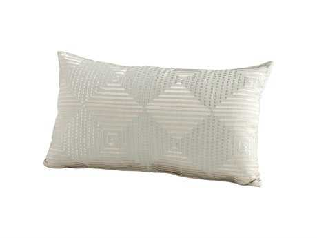 Cyan Design Sage Green Harlequin Shine Pillow