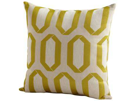 Cyan Design Lime Green Lime Light Pillow