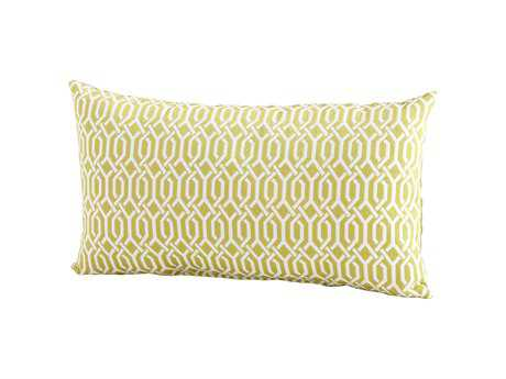 Cyan Design Lime Green Interlochen Pillow
