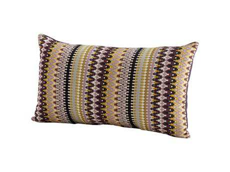 Cyan Design Purple Ziggy Pillow