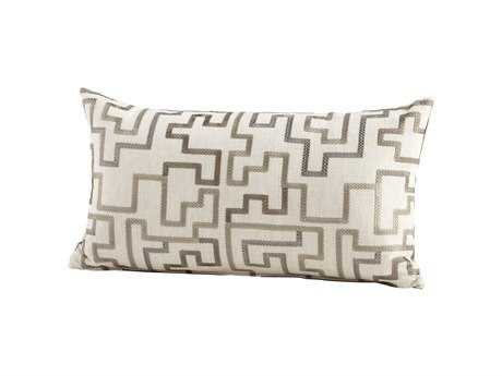 Cyan Design Silver Tetris Pillow