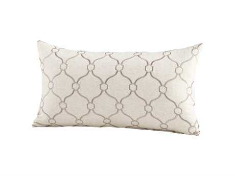 Cyan Design Silver Linked Love Pillow