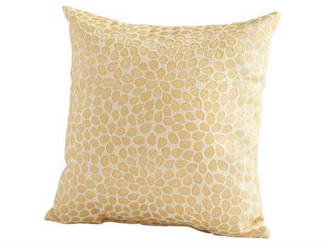 Cyan Design Gold Geranium Pillow