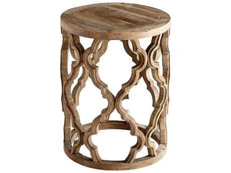 Cyan Design 18 Round Sirah End Table