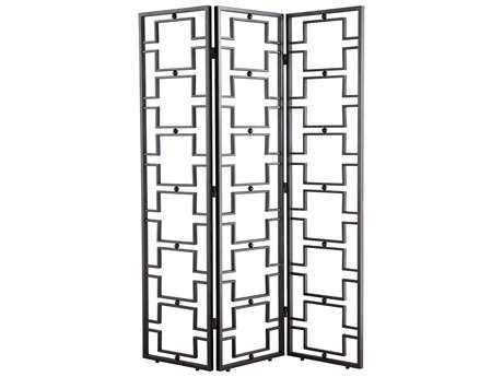 Cyan Design Agape Rustic Iron 3 Panel Room Divider