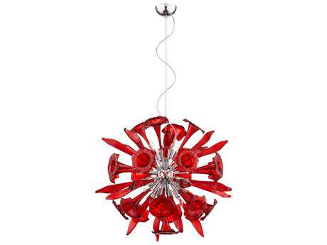 Cyan Design Red 12-Light Remy Pendant