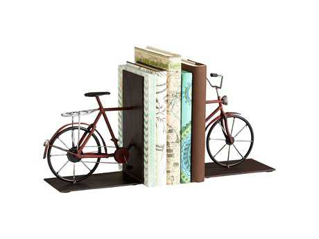 Cyan Design Pedal Colored Book End
