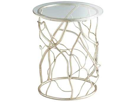 Cyan Design 18 Round Twisted Love End Table