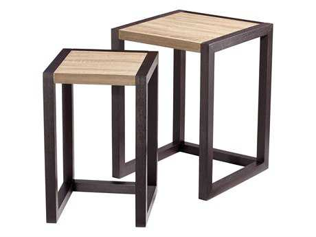 Cyan Design 17.5 x 18 Rectangular Becket Nesting Table