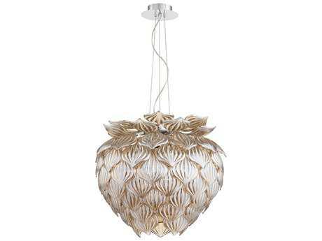 Cyan Design Okey Dokey Cognac Nine-Light Pendant