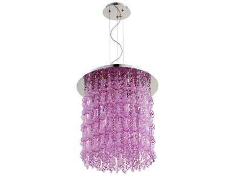 Cyan Design Charleston Purple Six-Light Pendant
