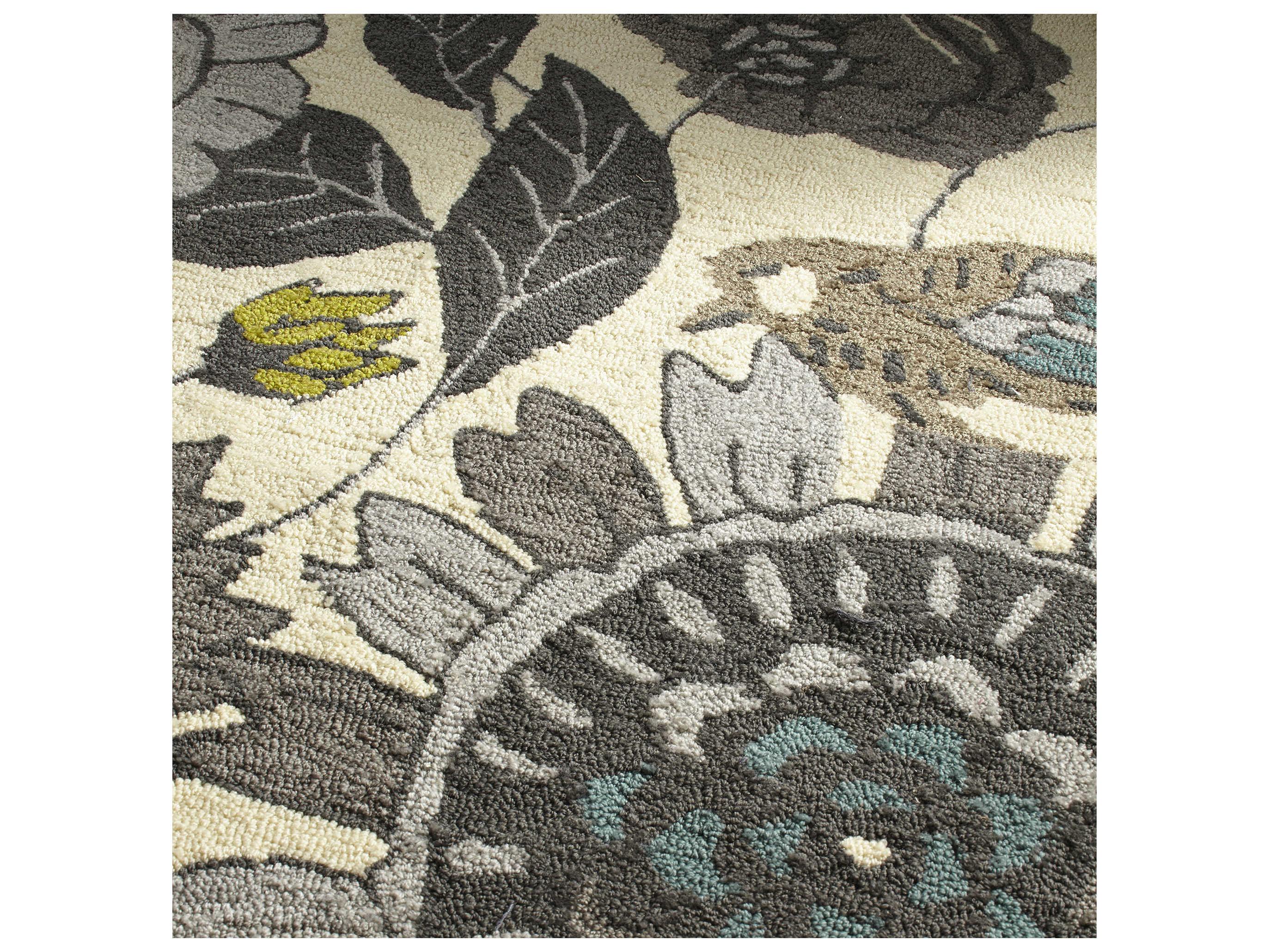cyan design nouveau beige area rug c306924