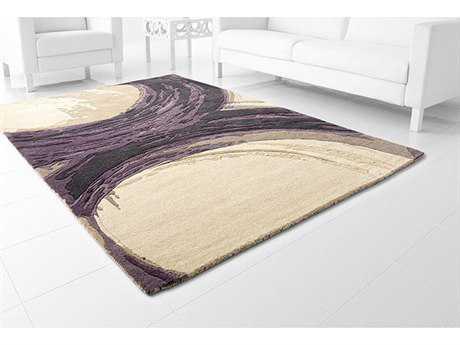 Cyan Design Percival Purple & Ivory Area Rug