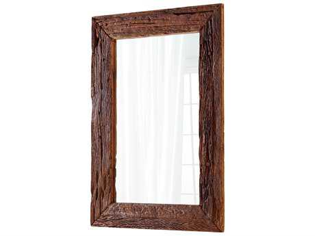 Cyan Design Folklore Walnut 42''W x 60''H Rectangular Floor Mirror