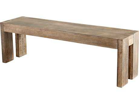 Cyan Design Segvois Weathered Pine Accent Bench