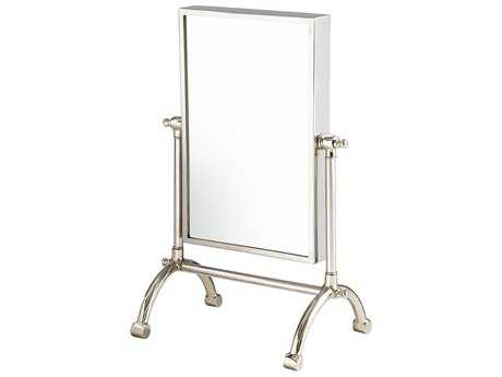 Cyan Design Cassius Stainless Steel 17''W x 25''H Rectangular Dresser Mirror