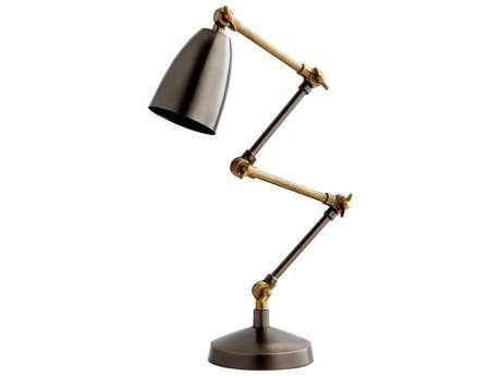 Cyan Design Angleton Bronze & Black Table Lamp