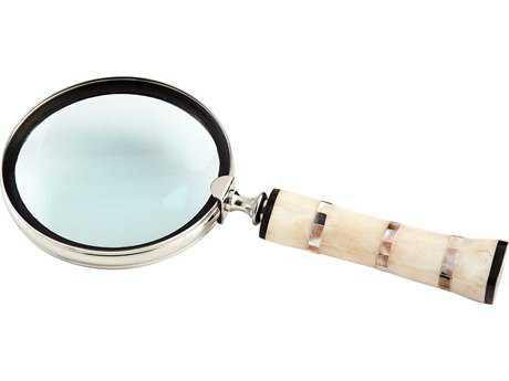 Cyan Design Nickel & Bone Watson Magnifier