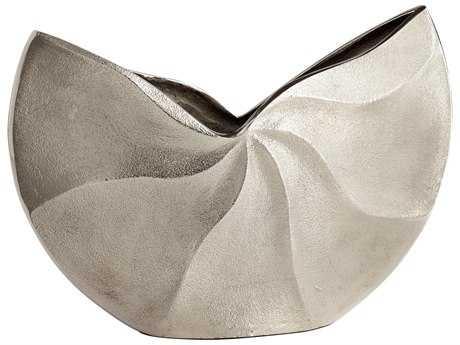 Cyan Design Varix Raw Nickel Large Vase