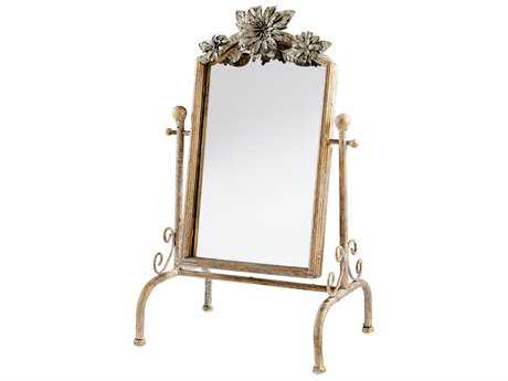 Cyan Design Orleans Ancient Gold 10''W x 17''H Dresser Mirror